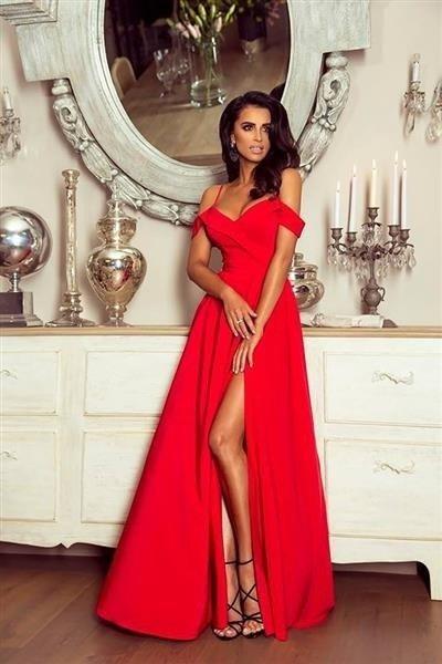 3b525d58 Długa Sukienka Elizabeth - czerwona Czerwony | Odzież \ Sukienki ...