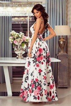 a5c9add5a4 Sukienka Megi-kwiaty róże